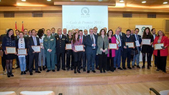 27 profesionales y empresas, galardonados en la XII edición de Premios AEEPP 2018