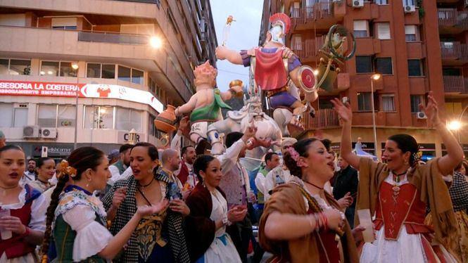 Las fallas de Xativa unas fiestas entre arte y ceniza