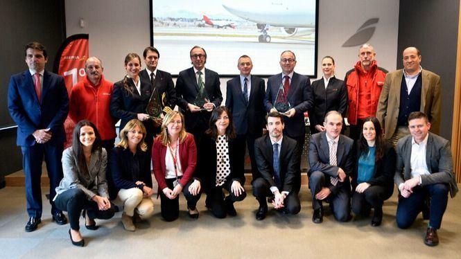 Iberia e Iberia Express reciben de nuevo el premio a las aerolíneas más puntuales