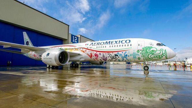 Aeroméxico incrementará sus frecuencias semanales en su ruta Madrid-Ciudad de México