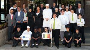 Alumnos belgas recibirán formación de español aplicado a la hostelería y de prácticas de cocina