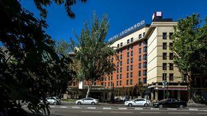 Un alojamiento, Leonardo Madrid City Center, una ciudad, Madrid