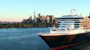 Cunard Line han estado cruzando el Atlántico hacia Nueva York desde 1840