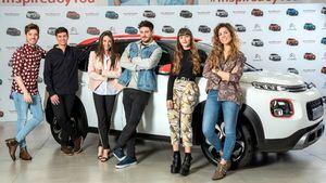 Los protagonistas de Operación Triunfo se convierten en embajadores del Citroën C3Aircross