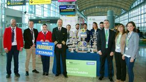 Ryanair inaugura su nueva ruta entre Alicante y Pardubice
