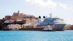 Ibiza acogerá más de 150 escalas de cruceros