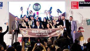 B&B HOTELS, mejor hotelera para trabajar en España
