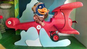 Piko en la avioneta