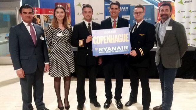 Ryanair inaugura su nueva ruta entre Sevilla y Copenhague
