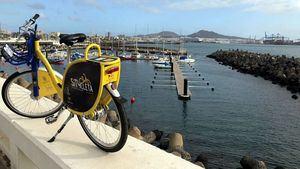 La Sítycleta conquista a dos ruedas Las Palmas de Gran Canaria