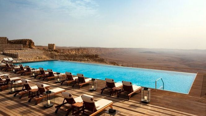 El mejor hotel con piscina del mundo está en Israel