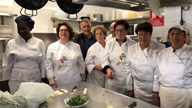 Primer taller cocina tradicional de Ibiza
