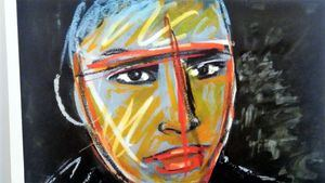El director Carlos Saura, artista emergente… en GABINETE Art Fair
