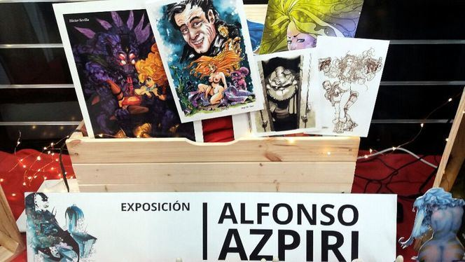 Alfonso Azpiri, un homenaje al maestro