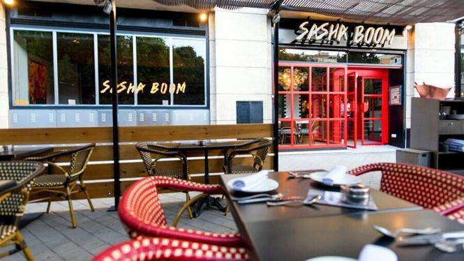 El restaurante Sasha Boom ha inaugurado su terraza