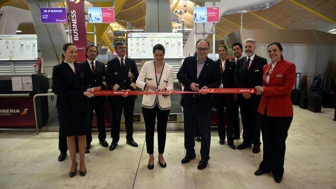 Iberia inaugura sus vuelos a San Francisco con el cartel de completo