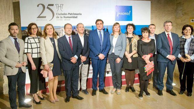 Madrid y las Ciudades Patrimonio presentan su oferta turística y cultural