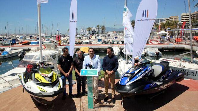 Marbella acoge la II Prueba del Campeonato de España y Andalucía de Motos de Agua