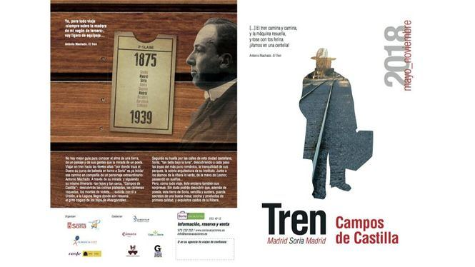 El Tren Campos de Castilla descubre la Soria que inspira