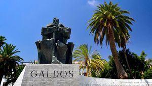 Las Palmas de Gran Canaria conmemora el 175 aniversario del nacimiento de Benito Pérez Galdós
