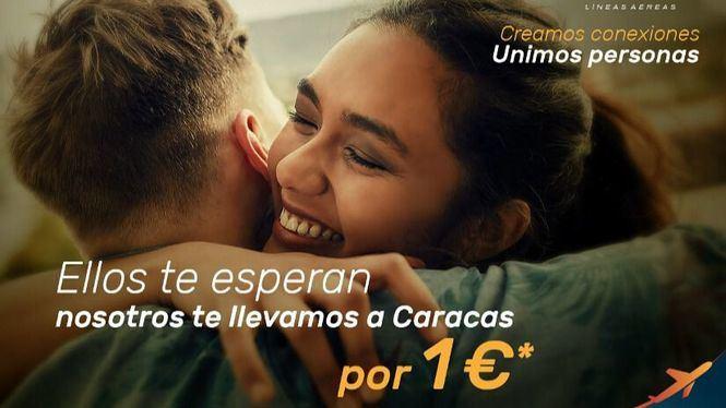 Plus Ultra Líneas Aéreas inaugura la ruta Madrid - Caracas ofreciendo billetes por 1 €