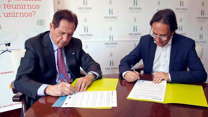 Hecansa firma un convenio con Cruz Roja para formar a personas en riesgo de exclusión sociolaboral