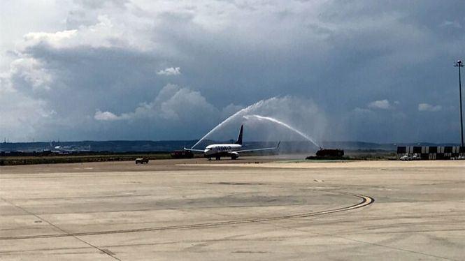 Ryanair inaugura su nueva ruta entre Zaragoza y Palma