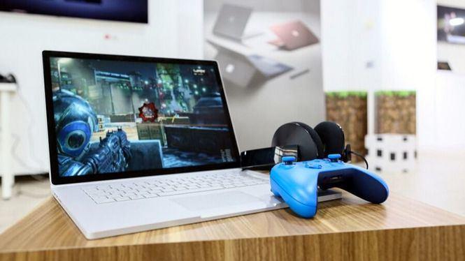 Juegos y Realidad Mixta con el nuevo Surface Book 2