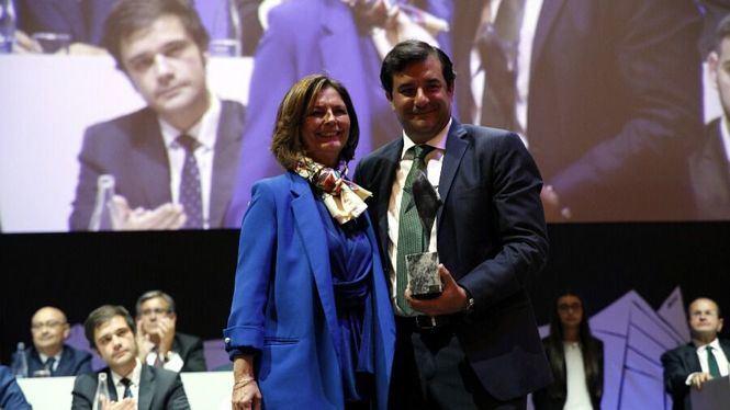 César Cernuda, presidente de Microsoft Latinoamérica, Premio Aster