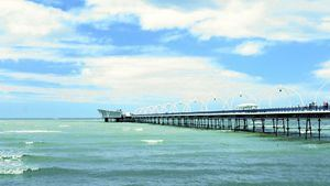 Southport. Muelle