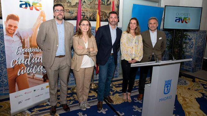 La red de Ciudades AVE presenta los encantos de España en Madrid
