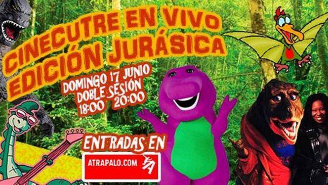 El peor cine de dinosaurios, en el show de humor Cinecutre en Vivo