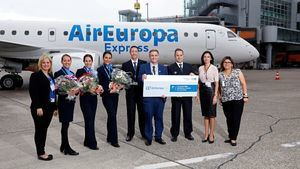 Air Europa incrementa su oferta a Alemania en un 32% al abrir ruta a Düsseldorf