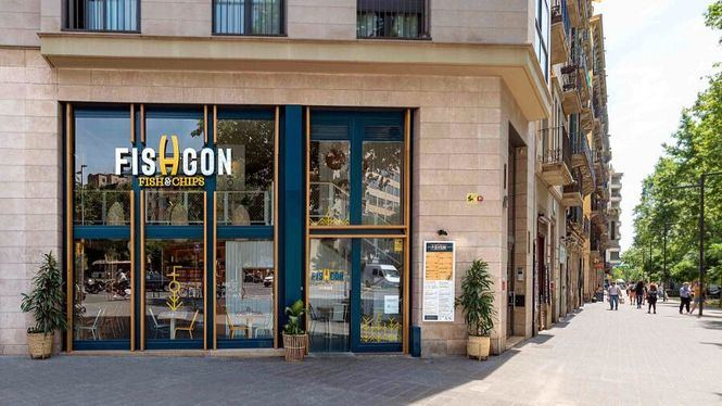 Fishgon, esencia británica con alma mediterránea