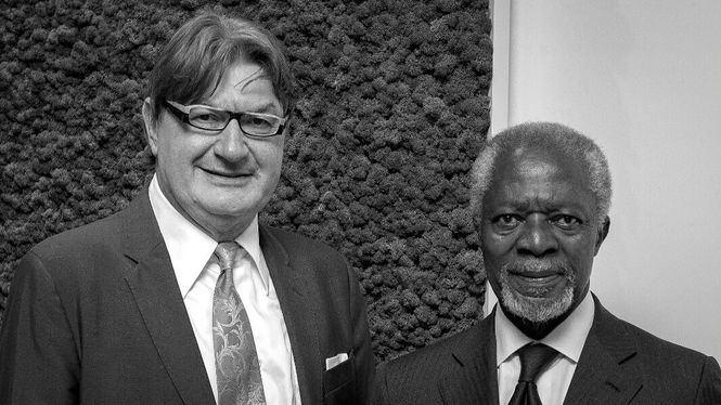 Kofi Annan se une al comité de ética y desarrollo sostenible de Geox