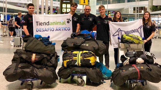 Salen desde Málaga los exploradores de Desafío Ártico 2018