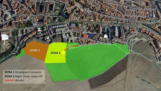 Segovia acoge del 20 al 22 de julio el Primer Festival Accesible de Globos Aerostáticos