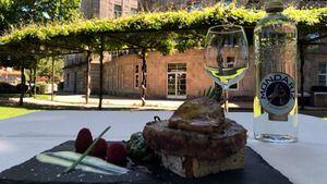 Hamburguesa para conmemorar el 145 aniversario del Balneario de Mondariz