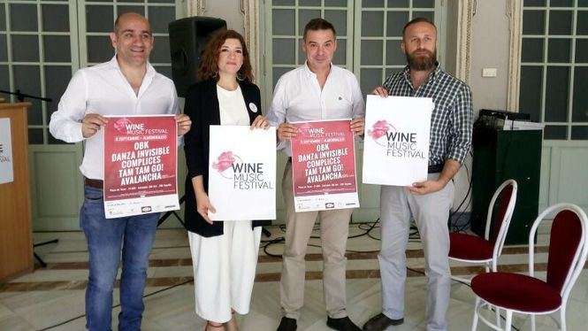 Primera edición del Wine Music Festival en Almendralejo