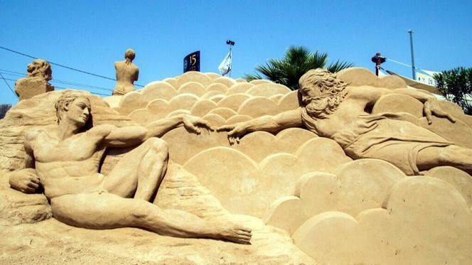 Sand City, una colosal ciudad de arena dedicada a las artes en El Algarve