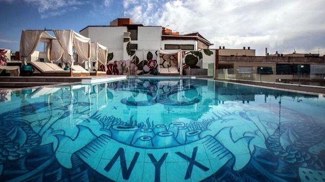 NYX Hotel Madrid acaba de estrenar su piscina