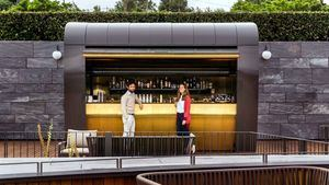 La nueva Cocktail Station de Hotel Akelarre