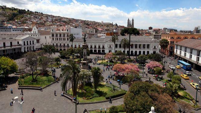 Barrios del centro histórico de Quito