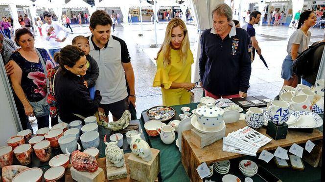 La VIII Feria de Artesanía de Santander reunirá a 34 artesanos en la Porticada