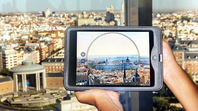 El Faro de Moncloa ahora un mirador virtual con Faro Explorer