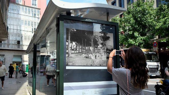 25 fotografías en paradas de autobús y espacios públicos de Santander