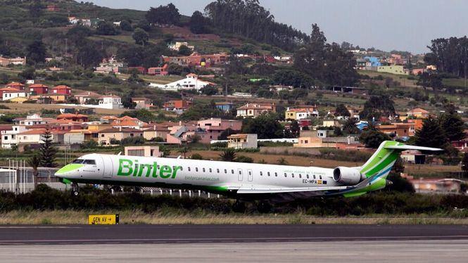 Binter refuerza sus vuelos entre Canarias y Tenerife Sur
