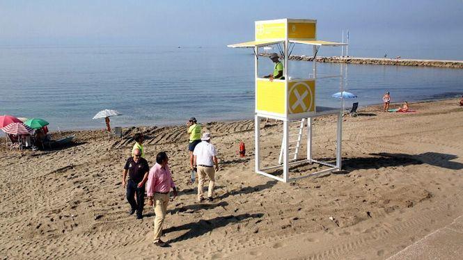 Marbella instala quince nuevos módulos de socorrismo dotados de megafonía
