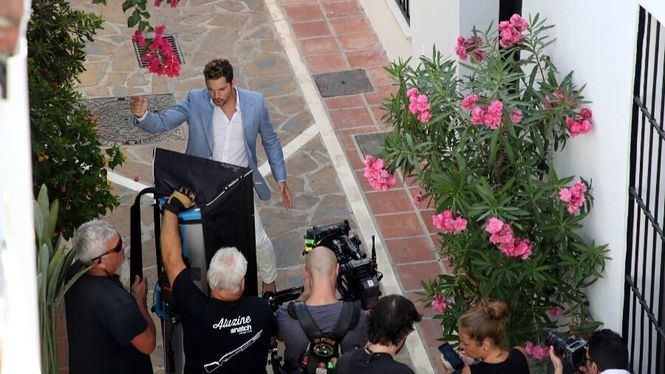Marbella, escenario del nuevo videoclip del cantante David Bisbal