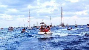 Cabo de Palos celebró la tradicional procesión marinera